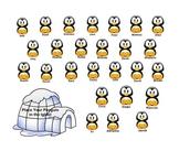 Smartboard Attendance - Penguins