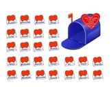 Smartboard Attendance - Valentine's Day Theme