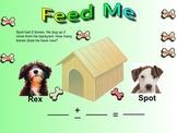 Smartboard Kindergarten Word Problems- Addition and Subtra