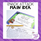 Snack Attack Main Idea QR Code Fun