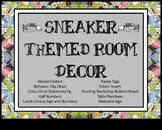 Sneaker Themed Classroom Decor