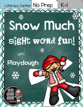 Snow Much Fun {Playdough/Literacy Center}