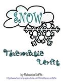 Snow Thematic Unit