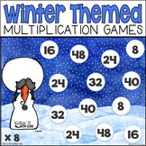 """Snow"" Your Facts {Multiplication Game Pack}"