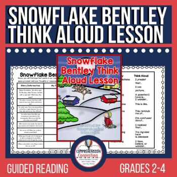 Snowflake Bentley Think Aloud Freebie