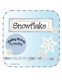 Snowflake Make a Word
