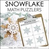 Snowflake Math Brain Bogglers