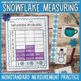 Snowflake Measuring {A Winter Mini Unit!}