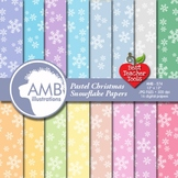 Snowflake Paper and backgrounds AMB-574