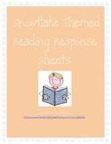 Snowflake Themed Reading Response Bundle