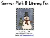Snowman Math & Literacy Fun