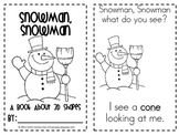 Snowman, Snowman: 3D Shapes