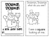 Snowman, Snowman: Flat Shapes
