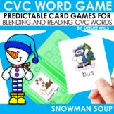 Snowman Soup! A CVC Memory Match and Game