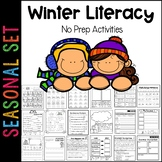 Winter Literacy Printable Pack