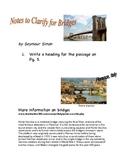 Soar to Success Bridges by Seymour Simon state assessment