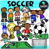 Soccer Clip Art Bundle