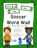 Soccer Word Wall Display