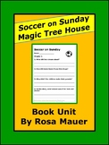 Soccer on Sunday Magic Tree House Reading Comprehension