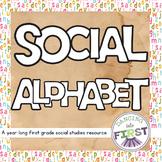 Social Alphabet- A year of teaching activities