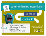 Communicating Assertively: Healthy Verbal & Nonverbal Approaches