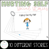 Social Story Set for children with Autism:  Hurting Self