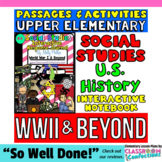 Social Studies INTERACTIVE NOTEBOOK #4 - 23 passages & Mor
