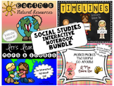 Social Studies Interactive Notebook Bundle-Grade 2