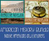 Social Studies Notebook Bundle-Native Americans AND Explor