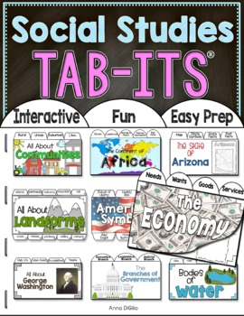 Social Studies Tab-Its Bundle