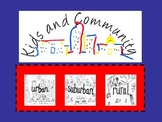 Social Studies -Types of Communities