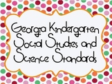 Social Studies and Science Georgia Performance Standards