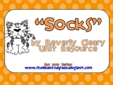 Socks by Beverly Cleary Unit Resource