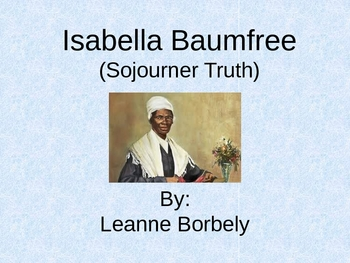 Sojourner Truth PPT