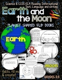 Solar System: Planet Shaped Flip Flap Books {Earth and the Moon}