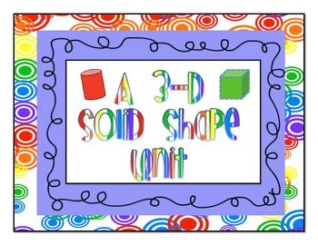 Solid 3D Shape Unit