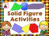 Solid Figures Activities
