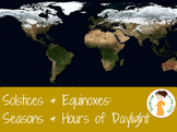 Solstice and Equinox: Hours of Daylight and Seasons Lessons