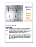 Solving Systems of Linear & Quadratic Equations Lesson Pla