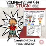 Sometimes,we get stuck! Social Story: perseverative though