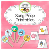 Song Props for Preschool and Kindergarten