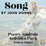 Song by John Donne Common Core Assessment Practice Questio