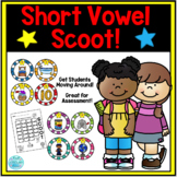 Short Vowel Sound Scoot Game