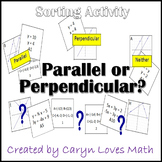 Sort:Using Slope, is it Parallel or Perpendicular.