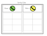 Sorting Boards: Color, Shape, Category (Special Needs, Aut