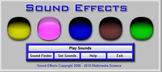 Classroom Tool - Sound Effects Software