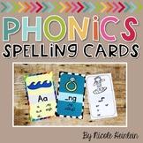 Sound Spelling Phonics Cards
