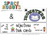 Space Robots & Monsters Task Cards