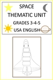 Space Thematic Unit for Grades 3-4-5