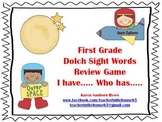 """Space Themed  """"I Have...Who Has...""""  1st Grade Dolch Sight"""